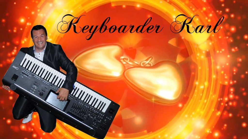 Alleinunterhalter - DJ und Entertainment Profi Keyboarder Karl